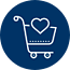 Seamless movement of the cart from one point to another during the customer journey